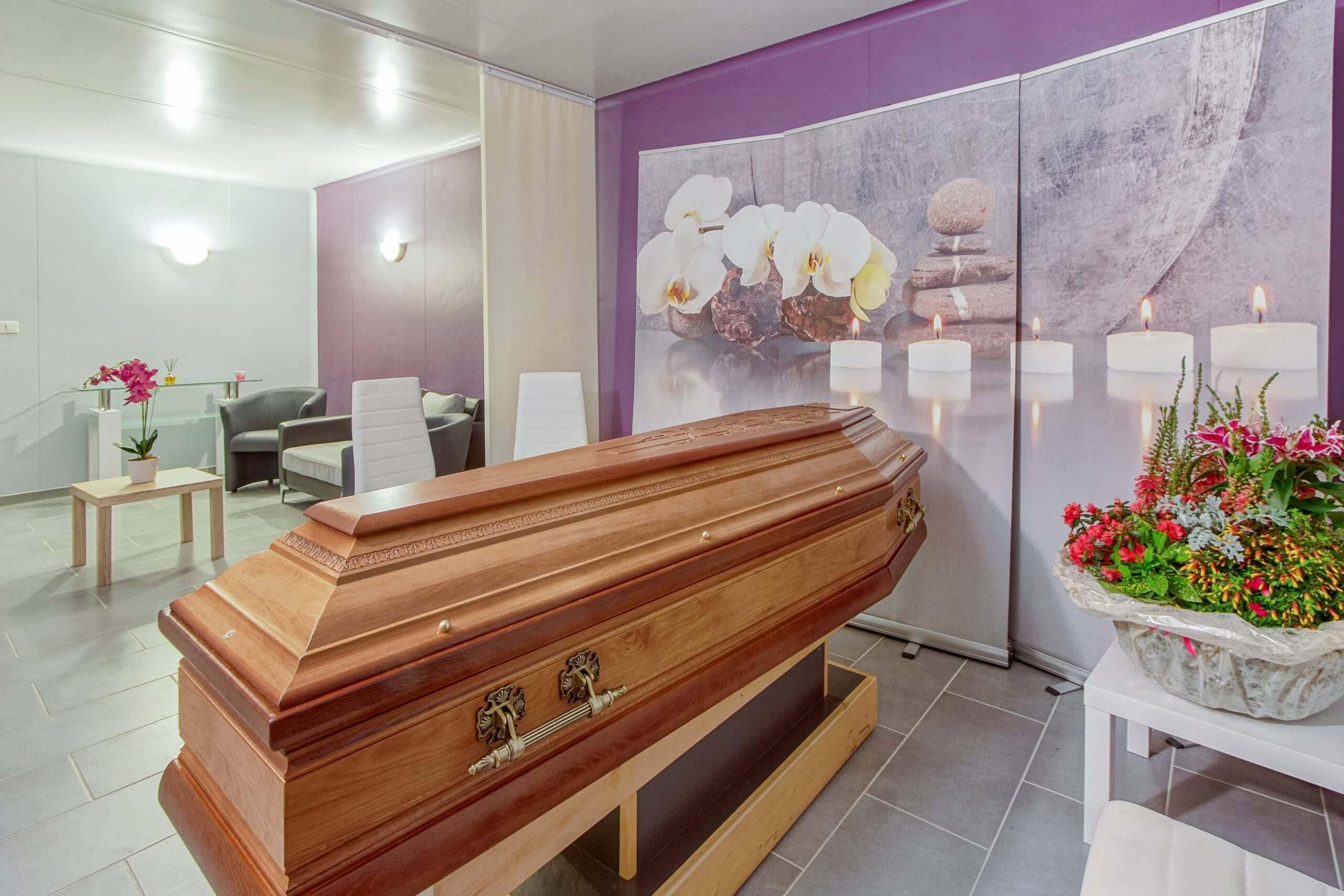 Photo - Chambre funéraire<